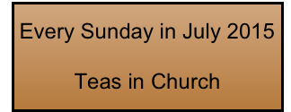 Every Sunday in July 2015